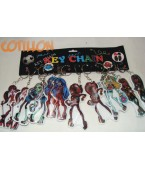 Llavero Monster high x 12