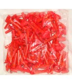 100 churros papel fluo Rojo