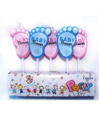 Velas Party Baby Shower x 5